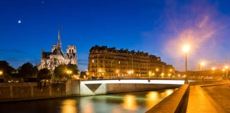 view of Notre Dame and Sena
