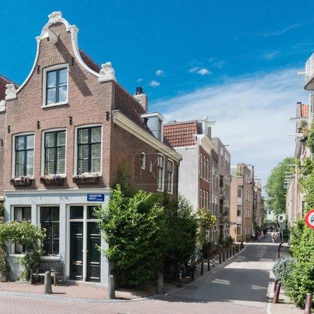 Beautiful street in Amsterdam