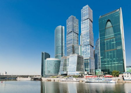 New Moscow City buildings