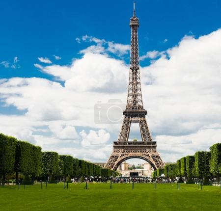 Photo for Beautiful Eiffel tower in Paris, France - Royalty Free Image