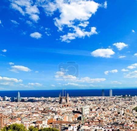 Barcelona Cityscape, Spain.