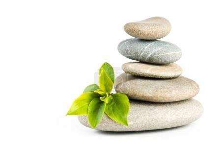Zen pebbles balance. Spa and healthcare concept