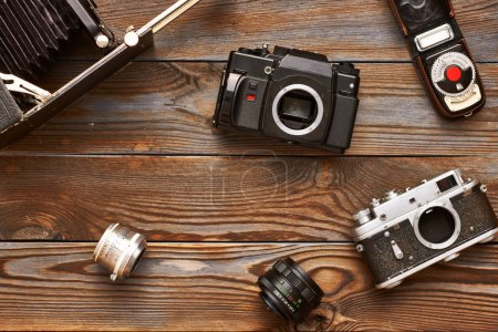 Vintage cameras and lenses