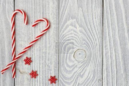 Christmas canes decoration