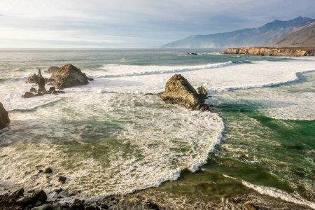 USA Pacific coast in California