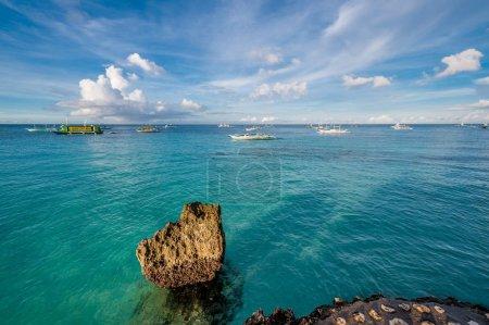 Rocky beach at Philippines