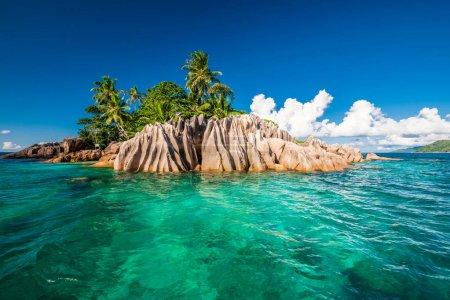 Photo pour Belle île de Saint-Pierre au seychelles - image libre de droit