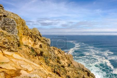 Point Reyes Lighthouse at Pacific coast