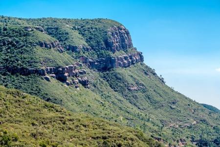 Mountains around the Montserrat Monastery