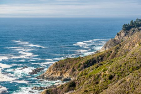 Photo for USA Pacific coast landscape, California. - Royalty Free Image