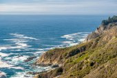 USA Pacific coast landscape