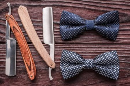 barber shop straight razor tools