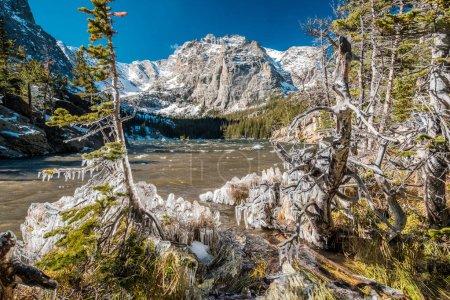 Loch Lake with rocks