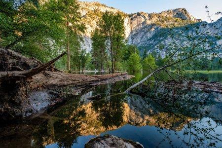 Merced River landscape in Yosemite. California, USA.