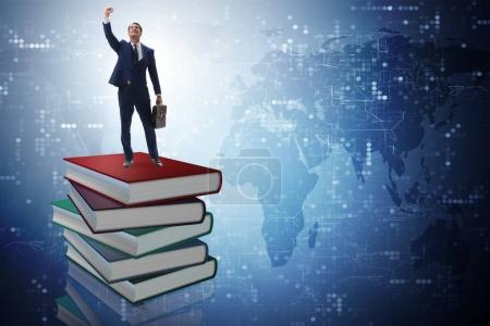 Photo for Businessman in executive education concept - Royalty Free Image
