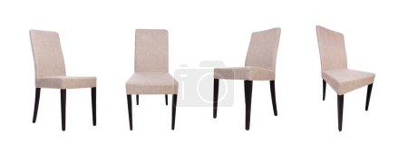 Foto de La silla de comedor aislada sobre blanco - Imagen libre de derechos