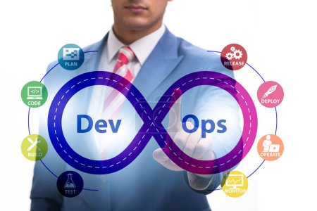Photo for The devops software development it concept - Royalty Free Image
