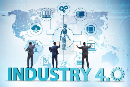 The modern industry 4.0 technical automation conce...