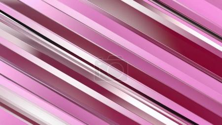 Pattern of red color strips prisms. Abstract background.