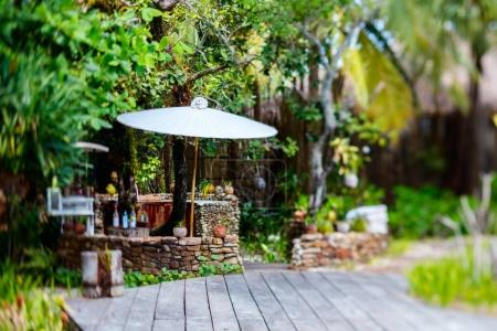 Tropical luxury resort