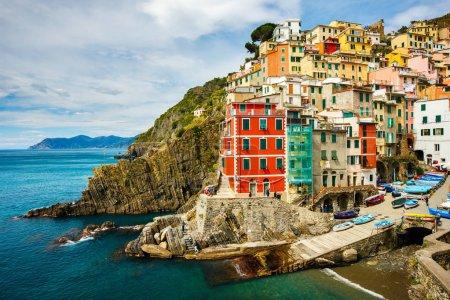 Riomaggiore village in Cinque Terre