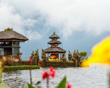 Beautiful Bali water temple