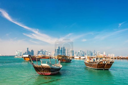 Waterfront in Doha Qatar