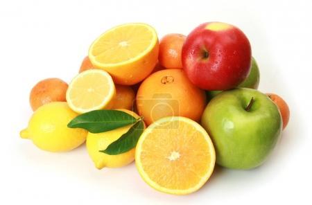 Photo pour Fruits mûrs pour une alimentation saine - image libre de droit