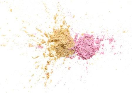 Make up crushed eyeshadow