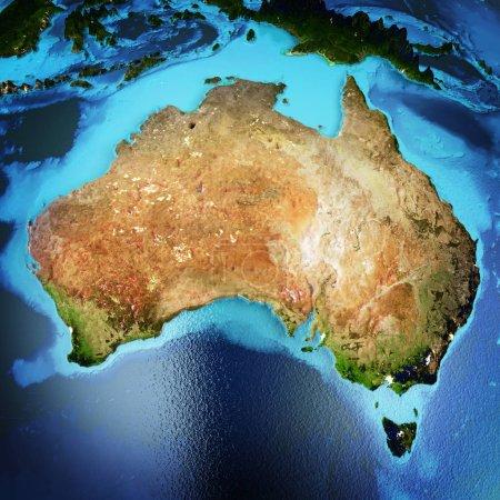 Australia space 3d