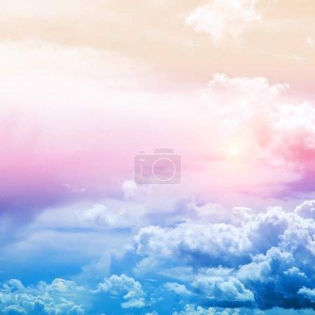Sky colors air clouds