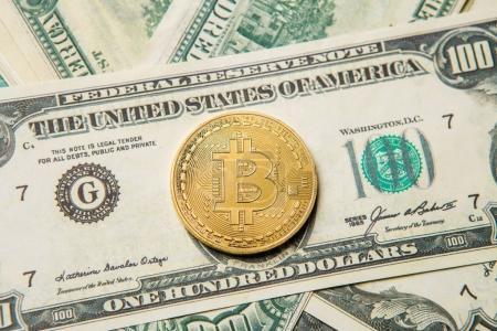 Image of crypto money, bitcoin