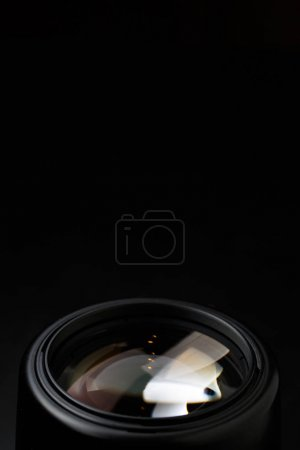 Image of camera lens close-up