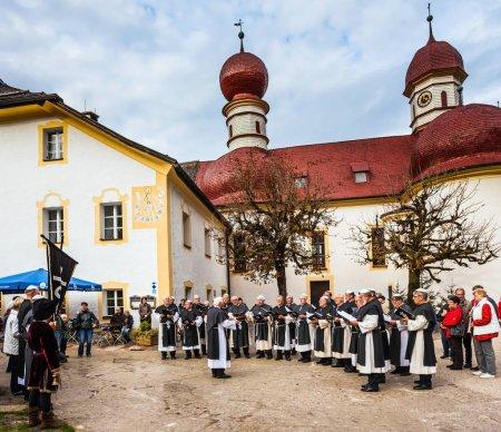 Monastic Choir near catholic Church
