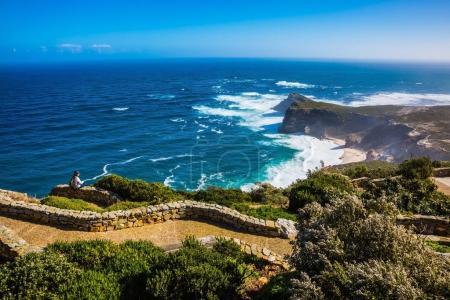 Cape of Good Hope in Atlantic