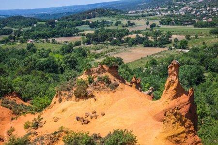 Orange hills landscape
