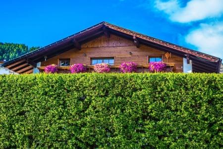 Wooden house - a chalet