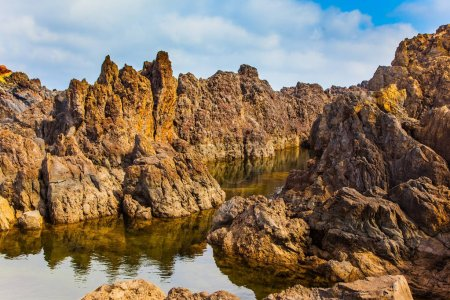 Volcanic Rocks and grottoes