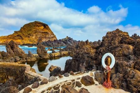 Coastal rocks and bouleders