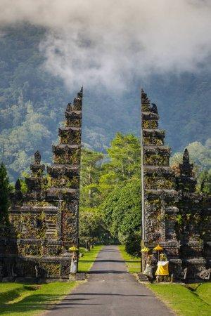 Traditional Balinese Hindu gate