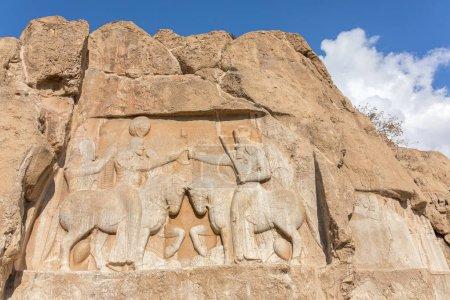 Tomb of Artaxerxes in the Naqsh-e Rustam