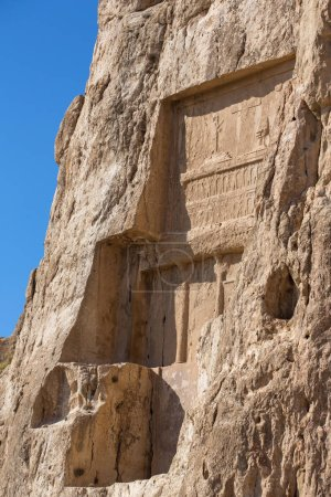 Naqsh-e Rustam, an ancient necropolis