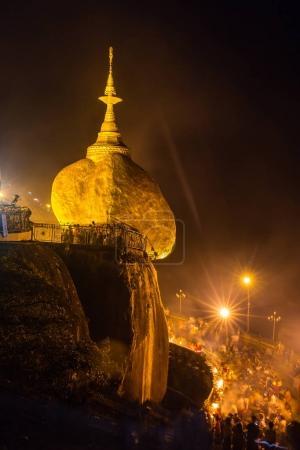 Kyaiktiyo pagoda in Myanmar