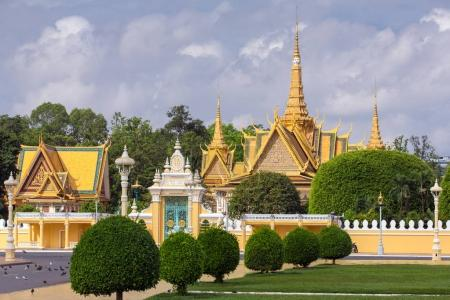 Royal Palace in Phnom Pehn