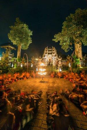 Traditional Kecak Fire Dance