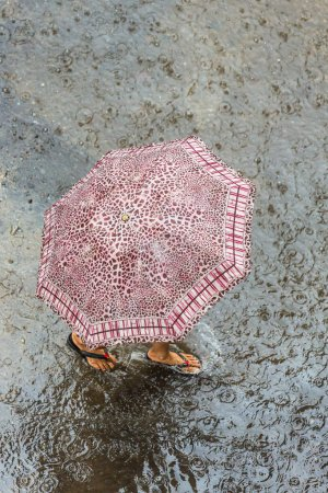 Rainy day in Yangon
