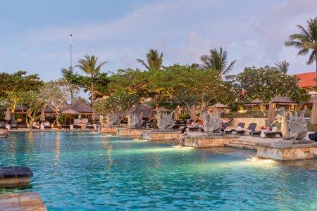 Beautiful tropical resort and spa