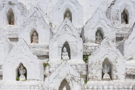 pagode blanche de Hsinbyume