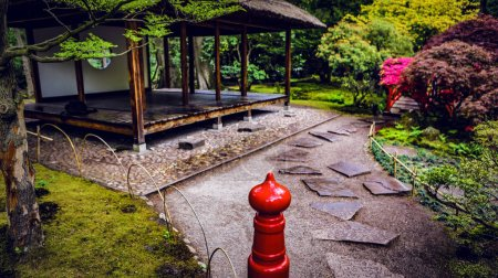 Traditional Japanese Garden in The Hague.