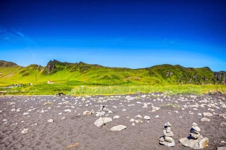 Photo pour Beau paysage pittoresque de la nature islandaise . - image libre de droit